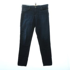 Adriano Goldschmied Male Mid Rise Skinny 32R Jeans